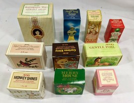 Lot Of 10 1970's Vintage Avon Cologne  Bottles Unused In Original Boxes  - $69.29