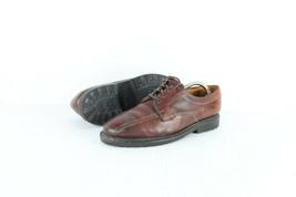 Allen Edmonds Hommes 9.5D Mapleton Lacet Chaussures Cuir Habillées Marron - $80.14