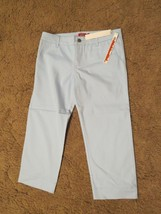 Dickies Girls Stretch Capri pants, Size 9, Waist 34 - $14.80