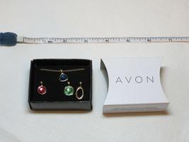 Mujer Avon Spice Moderne 4 Pieza Intercambiable Charms Collar F3930611 Nip - $16.03