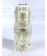 Lillian Rose Wedding Ceremony Unity Candle Cream White Pearl Tealight La... - $16.65