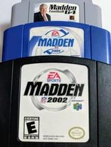 Madden NFL N64 Game Lot - 64, 2001 & 2002 (Nintendo 64, 2001) - Tested - $15.83