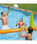 Swimming Pool Volleyball Game Inflatable Water Toy Summer Play Accessori... - £14.36 GBP