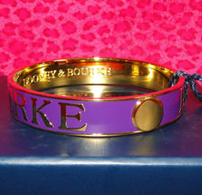 Dooney & Bourke Purple Bangle Bracelet New & Gift Boxed image 11