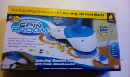 Hurricane Spin Broom by BulbHead, As Seen on TV, Lightweight, Cordless S... - $11.88