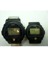 TWO CASIO 815 TS-100 Thermo World Time Digital WatchES TO RESTORE 1 RUNS - $275.00