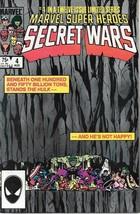 Marvel Super-Heroes Secret Wars Comic Book #4 Marvel 1984 Near Mint New Unread - $9.74