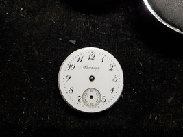 HAMPDEN MOLLEYSTARK MOVEMENT AND DIAL ONLY FOR ANTIQUE RESTORATION OR PA... - $130.62