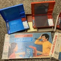Lot Of 2 Vintage Battleship Board Games 1967 1971 Milton Bradley - $9.74