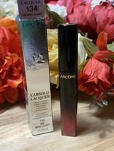 Lancome Labsolu Lacquer Lipstick No.134 Be Brilliant 0.27 Oz BNIB - $19.79