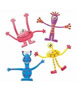 tkpartysupplies4u 12 Wacky Monster Bendables Birthday Party Favors - $17.82