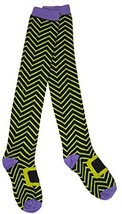 Hocus Pocus Funky Halloween Knee High Socks (Green) - $4.41