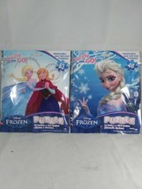 2 Disney Frozen ELSA Puzzles 48 & 63 Piece Puzzle Age 6+ NEW SEALED Free Ship  - $14.84
