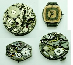 Gotham Watch Movement Vintage, Old, Used Verieties To Choose For parts, ... - $9.49+