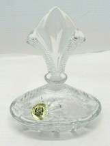 House Of Global Art Crystal Perfume Bottle Made in Germany - $22.72