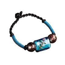 Retro Chinese Style Woven Jewelry Ethnic Handmade Bracelets Agate Bracelet