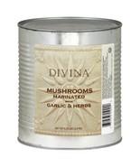 Divina Mushrooms Marinated with Garlic & Herbs ‑ 6.25 lb - $38.01