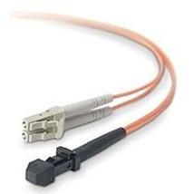 Belkin F2F40200-01M 3.3 Feet Fiber Optic Duplex Patch Cable - 50/125 micron - $21.19