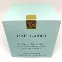 Estee Lauder Resilience Multi-Effect Tri-Peptide Face and Neck Creme SPF... - $76.63