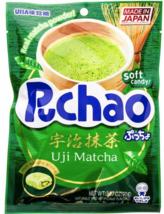 UHA Mikakuto Japanese Puchao Soft Chewy Candy Uji Matcha Flavor 3.17oz/1 pack - $6.88
