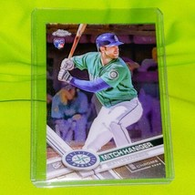 Mlb Mitch Haniger Seattle Mariners 2017 Topps Chrome Rookie Card #29 Mnt - $1.70
