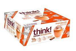 think! Protein+ 150 Calorie Bars pumpkin Spice Limited Edition, g Protei... - $18.80