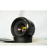 Canon 50mm 1.8 EF Nifty Fifty Prime Standard Lens -NICE-TESTED- DSLR + F... - $65.00