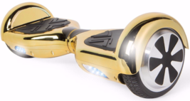 Chrome Gold Extreme Bluetooth 6.5 Hoverboard Two Wheel Balance Scooter UL - $249.00