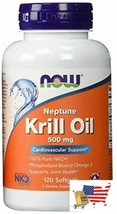 Now Foods Neptune Krill Oil 500Mg(2-pack)120 softgels - $88.97