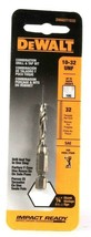 "1 Count DeWalt DWADT1032 Combination Drill & Tap Bit 10-32 UNF 1/4"" Shank - $15.99"
