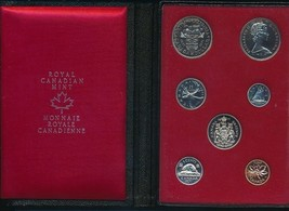 1971 CANADA DOUBLE DOLLAR PROOF SET-7 COINS-ORIGINAL BOX/CASE-SHIPS FREE! - $19.95