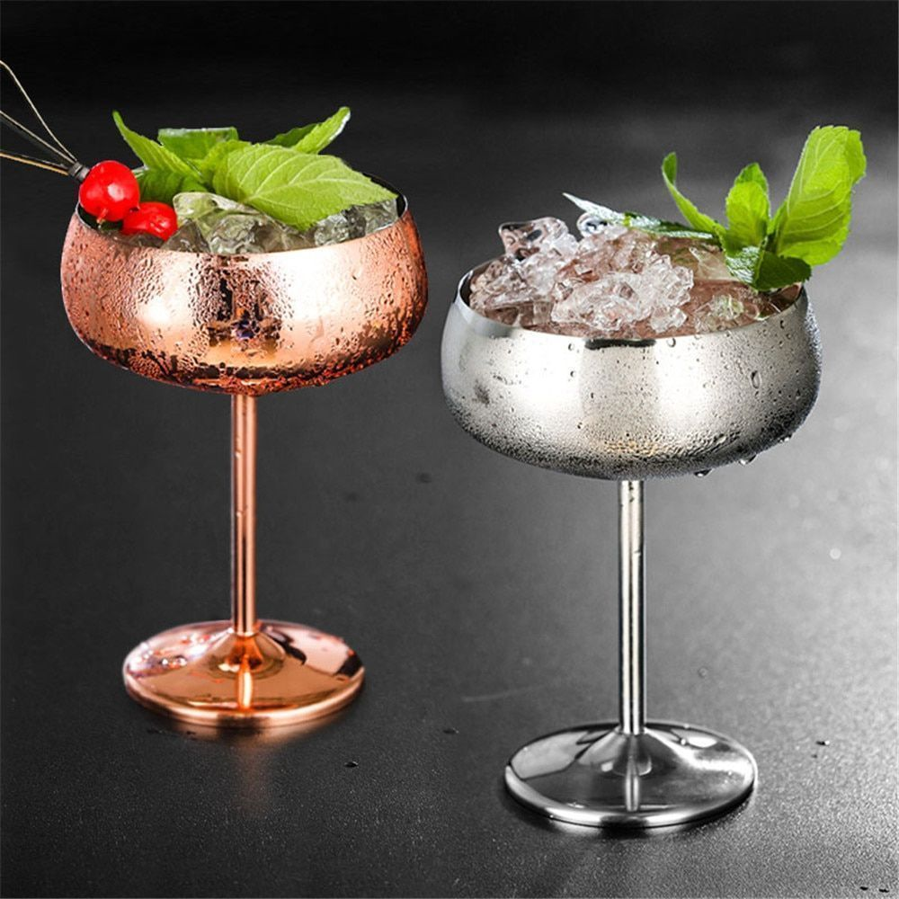 Cocktail Glass Bar-Ware Kitchen Party Goblet Champagne Juice Beverage Cup