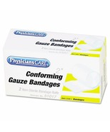 PhysiciansCare by First Aid Only First Aid Conforming Gauze Bandage Roll... - $8.45