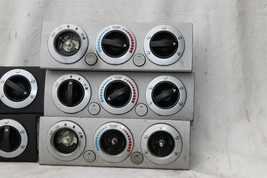 05-10 Toyota Tacoma Heat AC Climate Control Fan Switch *LOT OF 5 CORE FOR PARTS* image 2