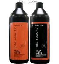 Matrix Total Results Mega Sleek Shampoo and Conditioner 33.8oz  Duo - $49.49