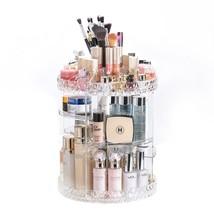 DreamGenius Makeup Organizer 360-Degree Rotating Adjustable Multi-Function - $38.60
