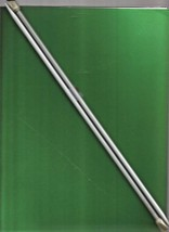 Single Point Aluminum Knitting Needles 14 in. - Size 5 - Bates - $2.52 CAD