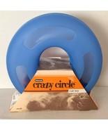 "Petmate Crazy Circle Cat Toy Blue Plastic 9.5"" Diameter Ball Inside New ... - $9.99"