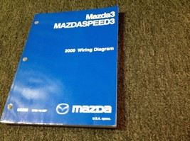 2009 Mazda3 Mazdaspeed3 Electrical Wiring Diagram Troubleshooting Manual EWD OEM - $69.25
