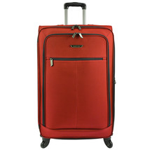 "Traveler's Choice Orange 31"" Softside Light Expandable Spinner Luggage S... - $84.14"