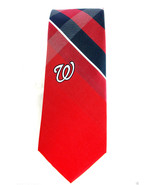 Washington Nationals Mens Necktie Officially Licensed MLB Baseball Red N... - $29.65
