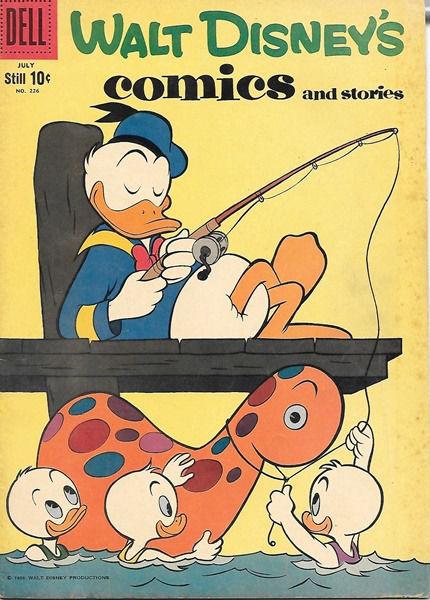 Walt Disney's Comics and Stories Comic Book #226, Dell Comics 1959 VERY GOOD+