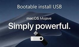 Mac OS X Mojave 10.14 Boot Install Disk USB 8GB