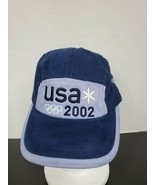 2002 Roots United States Winter Olympic Team Strap Back Cap - $18.44
