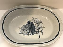 "Noritake Oval Vegetable Bowl Colonial Times 9"" - $12.90"