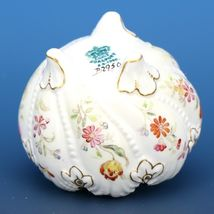 Antique Open Master Salt Dip Cellar Hand Panted Coalport Shell Rim c1881-1890 image 3