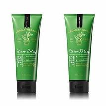 Bath & Body Works Aromatherapy Stress Relief Eucalyptus Spearmint Body C... - £21.27 GBP