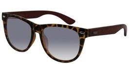 EBE Bifocal Sunglasses Womens Retro Style Tortoise Frames Wooden Temples - $32.07
