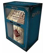 Harry Potter Marauders Map Mug, Coaster and Keychain Gift Set - $12.47