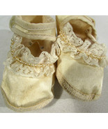 Carter's Baby Shoes Infant Toddler Size 1 Satin Finish Lacy Pearls - $5.93